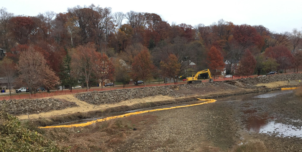 Four Mile Run Stream Construction Dec 2016