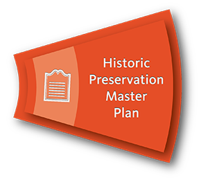 historic preservation icon sliced from overall comprehensive plan diagram
