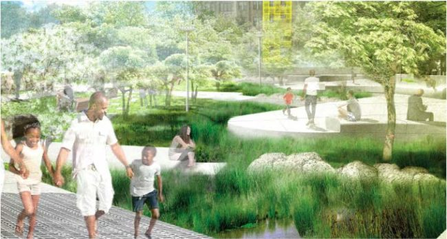 Nauck Town Square Final Design