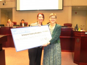 LEAP to provide $125,000 in incentives for Arlington homeowners to complete energy retrofits.