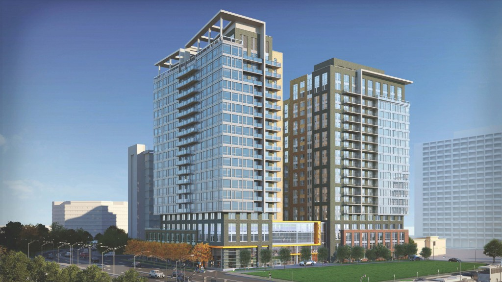 Crystal City S Paper Clip Building Site To Be Redeveloped