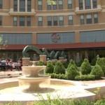 Circa of Clarendon with fountain