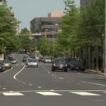 Wilson Boulevard looking Eastbound