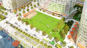 Rosslyn Plaza Park rendering
