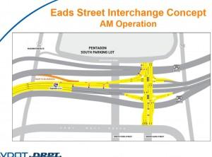 Eads Street Interchange Concept