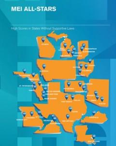 HRC MEI All-Star Cities USA