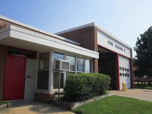 Front of Fire Station No. 8