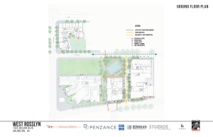 Western Rosslyn Area Plan ground floor layout.