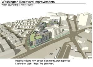 Washington Boulevard improvements