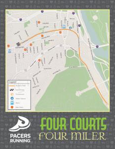 Four Courts Four Miler 2017