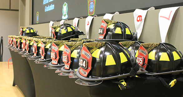 At a graduation ceremony on April 27, the Arlington County Fire Department added 28 new Firefighter/EMTs to its ranks