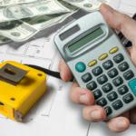 Photo of a calculator