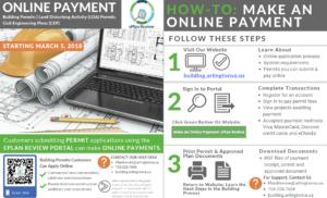 Online Payment Announcement