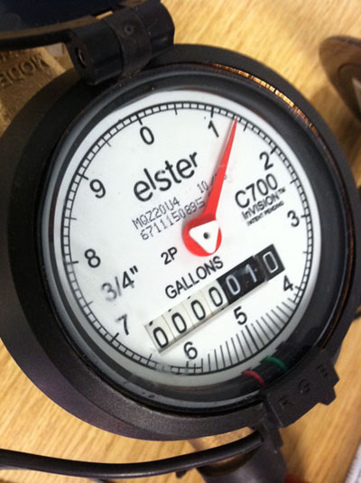 Automatic Meter Reading : Water meters utilities