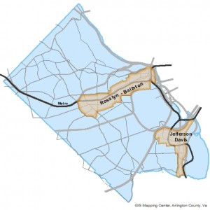 Residential Parking Working Group Corridor Map