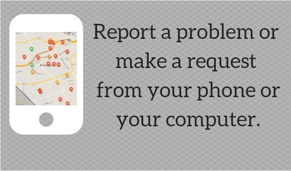 Report a Problem Slider