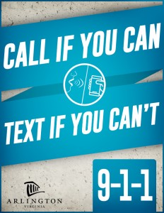 Text to 9-1-1 graphic