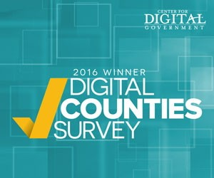 center for digital government winner 2016