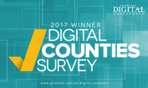 2017 Digital Counties Survey Award Winner