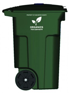 yard waste organics cart